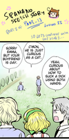Spamano doodle-story 13 part 2 by mitssuki