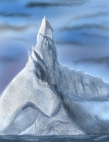 Ice Lighthouse by Ash-Dragon-wolf