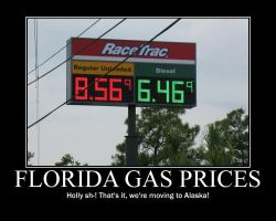 Gas Prices by CrescentMoonDemon