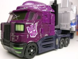Evil Optimus by forever-at-peace