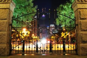 The Gates of Austin by SublimeBudd