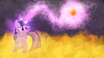 Twilight Sparkle - 2 Star Dragonball by Jamey4