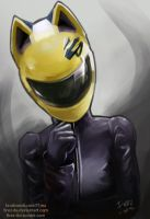 Celty Sketch by FiRez-DA