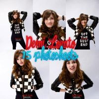 Pack Demi Lovato Photoshoot by NayelisEditions