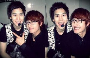 Kyuh and Zhou mi by myelfhaven