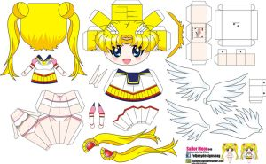 Sailor moon (Joey's chibi Girls 046) by ELJOEYDESIGNS