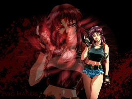 Revy - Black Lagoon by Kirika88