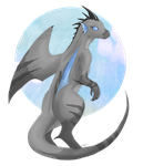 Wren : Blue and grey by viichi
