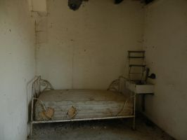 STOCK IMAGE old bed 1 by LamollesseStockImage