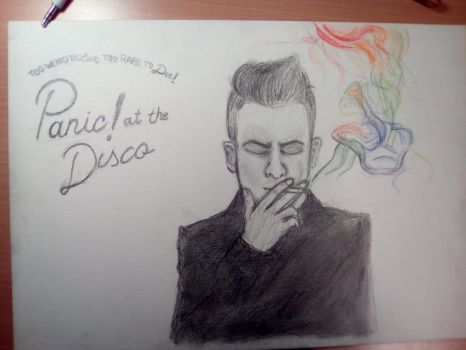 Panic! at the disco Brendon Urie by kilanath