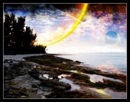 Our Bahama Land i by Ikue