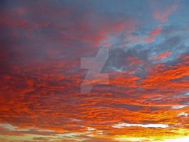 Fire in the Sky by HighCountryImages