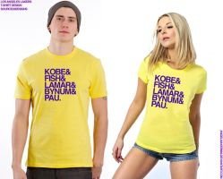 LA Lakers T-Shirt by Angelmaker666