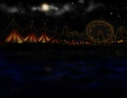 Circus on dark waves by Phisoxa