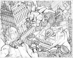 Panel from Invincible 54 by RyanOttley