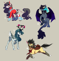 Pony Auction! CLOSED by Sutexii