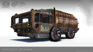 Fallout truck by pizdUrRart