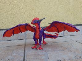 Hakuna Matata - dragon sculpture 5 by Blazsek