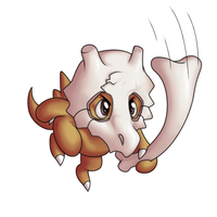 CUBONE-BONE-BONE by SunnieF