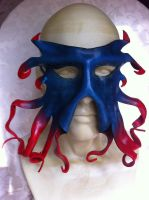Leather ~Squidy~ Mask by SonsOfPlunderLeather