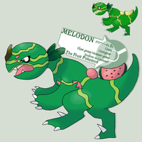 A melon for its melon..revised by G-FauxPokemon