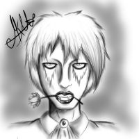 Lord version marilyn manson by MikaCapde