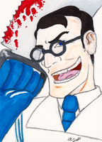 BLU Medic ACEO by Scunosi