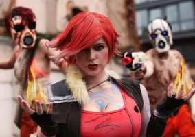 Lilith as the Firehawk by ChrixDesign