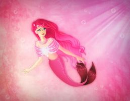 Mermaid Princess by nikkidoodlesx3