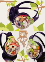 woodland Headphones by Bobsmade