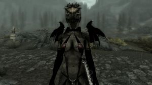 Argonian Succubus by azmodon66