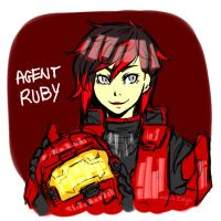 Agent RUBY by MyHappiiDays