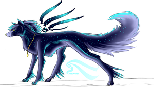 Astral Wolf by AtlasArtifex
