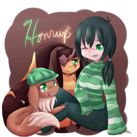 All Forms of Me by honrupi