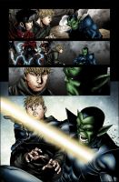 Young Avengers Page Colors by Elisa-Feliz