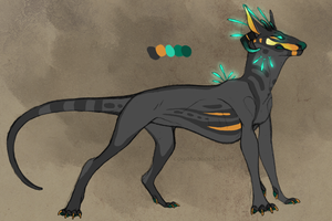 creature design AUCTION (closed) by CoyoteSoot