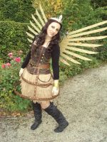 Steampunk costume by LindyvdBosch