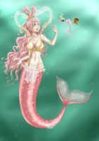 OP mermaids by Banane-cuite