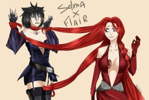 Flair and Selma by Selma-Schefer
