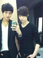 Lay and Tao pre debut by ambieshinee