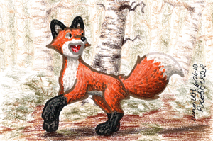 A Plain Red Fox by EclipsisStudios