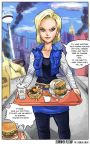 Shonen Plump Preview 4 Android 18 Comic by TheAmericanDream