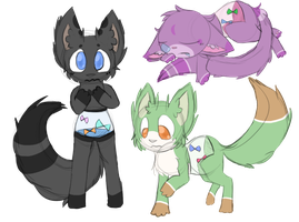Butterfly animal adopts by Pikagalli