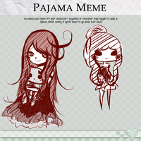 pajama meme thing by rhia-kun
