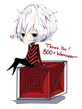 Thank You~! 800+ Watchers ~Alcor~ by Kururu245