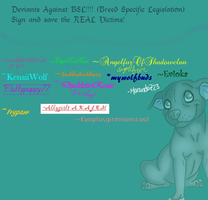 STOP BSL by GrowlitheArtistGirl