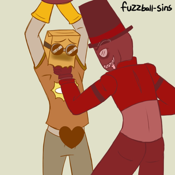 Paperhat color pallet doodle by fuzzball17