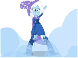 EqG Trixie:  She's GONE! by seahawk270