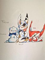 Tacha little crew by ShinyLatias82