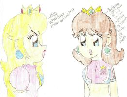 Random Peach and Daisy by Princess-Daisyxox